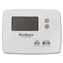 BROTHERS STRAIGHT COOL HORIZONTAL NON-PROGRAMMABLE THERMOSTAT
