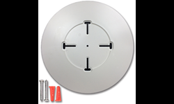 UNIVERSAL ROUND THERMOSTAT COVER PLATE