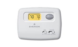 EMERSON DIGITAL HORIZONTAL HEAT/COOL THERMOSTAT