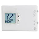 LUX DIGITAL MULTI-POSITION HEAT PUMP THERMOSTAT