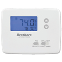 BROTHERS HEAT PUMP NON-PROGRAMMABLE THERMOSTAT