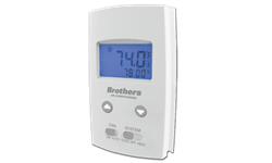 BROTHERS STRAIGHT COOL VERTICAL NON-PROGRAMMABLE THERMOSTAT