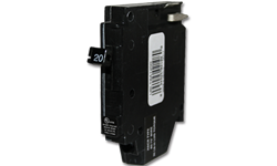 CHALLENGER 1P 15AMP BREAKER (LEFT SIDE CLIP)