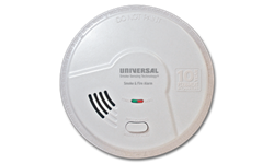 USI 2 IN 1 SMOKE AND FIRE SMART ALARM W/10 YEAR SEALED BATTERY