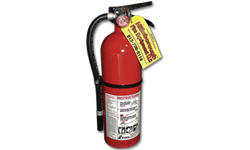 5LB FIRE EXTINGUISHER CERTIFIED - 3-A:40-B:C - ALUM CYL/ALUM HEAD - RECHARGEABLE