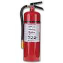 10LB FIRE EXTINGUISHER CERTIFIED - 4-A 60-B:C - STEEL CYL/ALUM HEAD - RECHARGEABLE