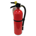 2-1/2LB FIRE EXTINGUISHER CERTIFIED - 1-A:10-B:C - ALUM CYL/METAL HEAD - SINGLE USE