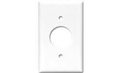 MIDI ROUND A/C OUTLET PLATE - WHITE