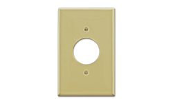 MIDI ROUND A/C OUTLET PLATE - IVORY