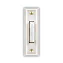 DOOR CHIME LIGHTED PUSHBUTTON - WHITE