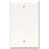 STANDARD BLANK WALL PLATE - WHITE