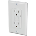 GFCI 20AMP SELF TEST RECEPTACLE - WHITE