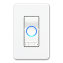 IDEVICES WI-FI ENABLED INSTINCT LIGHT SWITCH WITH ALEXA- WHITE