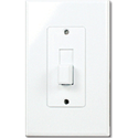 TAYMAC DECORA COVER TOGGLE SWITCH PLATE - WHITE