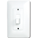 TAYMAC MASQUE TOGGLE SWITCH PLATE - WHITE