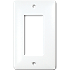 TAYMAC MASQUE SINGLE GANG ROCKER WALL PLATE - WHITE