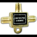 2-WAY CABLE TV SPLITTER
