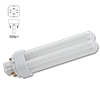 13W QUAD COMPACT FLUORESCENT BULB - G24Q-1 BASE - COOL WHITE