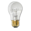 25W CLEAR A15 APPLIANCE BULB - 12/PK