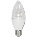 4.5W CLEAR TORPEDO LED BULB - 5000K - MEDIUM BASE