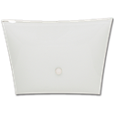 "12"" SQUARE BEDROOM FIXTURE - WHITE"