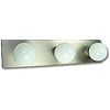 "18"" 3-LIGHT BATH STRIP - SATIN NICKEL"
