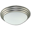 "14"" TWIST-ON CEILING FIXTURE - SATIN NICKEL"