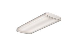 2' LOW-PROFILE CURVED BASKET LED WRAPAROUND FIXTURE