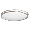 "32"" LED OVAL TWO RING FLUSH MOUNT CEILING FIXTURE"