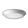 "10"" LED FLUSH MOUNT FIXTURE - BRUSHED NICKEL (WET LOCATION)"