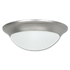 "14"" LED CEILING FIXTURE - SATIN NICKEL"
