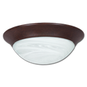 "14"" LED CEILING FIXTURE - BRONZE"