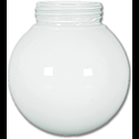 "6"" WHITE VAPOR BALL 3-1/4"" FITTER - 4/PK"