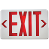 EXIT SIGN WITH BATTERY BACKUP