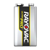 RAYOVAC ULTRAPRO 9V ALKALINE BATTERY 12/PK