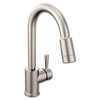 CFG EDGESTONE ONE HANDLE PULLDOWN KITCHEN FAUCET -CLASSIC STAINLESS