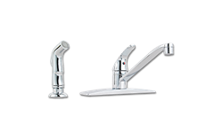 PFISTER SINGLE LEVER KITCHEN FAUCET WITH SPRAY - CHROME