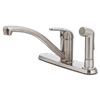 PFISTER SINGLE HANDLE KITCHEN FAUCET WITH SPRAY - STAINLESS STEEL