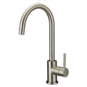 WHITEFALLS CLASSIC HI ARC SINGLE LEVER KITCHEN FAUCET - BRUSHED NICKEL