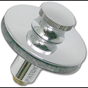 WATCO PUSH & PULL PLASTIC TUB STOPPER - CHROME