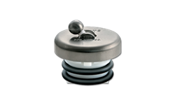 FLIP-IT TUB STOPPER - BRUSHED NICKEL