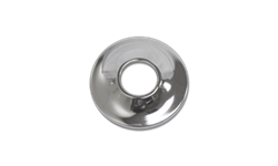 CHROME PLATED STEEL SHOWER ARM ESCUTCHEON