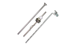 LIFT ROD, ROD STRAP AND BALL CRANK & NUT FOR POP-UP