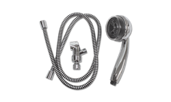 "PERSONAL PULSATING MASSAGE SHOWER WITH HOSE, 3"" ADJUSTABLE FACE - CHROME"