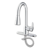 CFG BAYSTONE ONE HANDLE PULL-DOWN KITCHEN FAUCET - CHROME