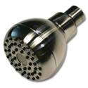 WHITEFALLS SHOWER HEAD WITH METAL BALL JOINT - BRUSHED NICKEL