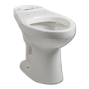 BRIGGS WHITE ADA APPROVED TOILET BOWL
