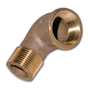 "3/4"" FIP X 3/4"" MIP BRASS STREET ELBOW PIPE FITTING"