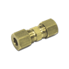 "1/4"" BRASS COMPRESSION UNION"