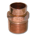 "1/2"" SWEAT X 3/4"" MIP COPPER ADAPTER"